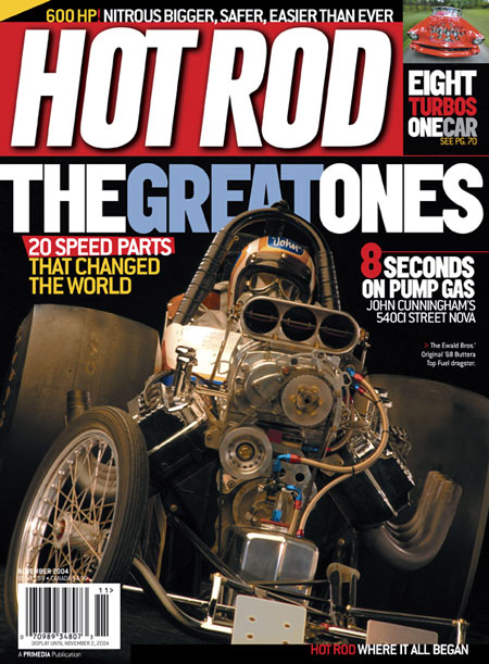 HOT ROD Magazine September 2016 DIY Retro Gassers Built Cheap and Fast HEMI POWER