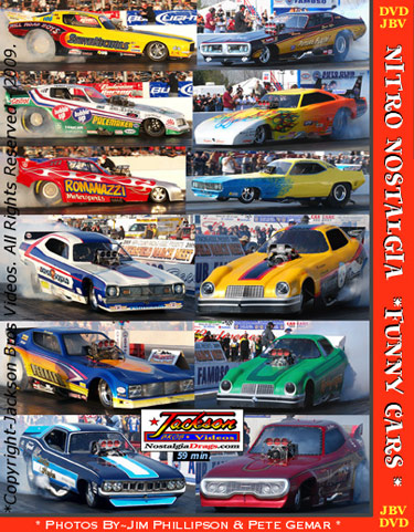 Funny Car Photo Pictorial at
