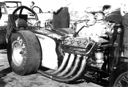 Don Stortroen And Thrifty Auto Supply From Spokane Washington Was One Of The Baddest Bad In Day At 61 March Meet They Set Top Sd