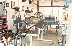 Jr. Dragster nears completion