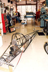 Jr. Dragster chassis