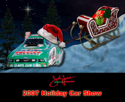 John Force 2007 Holiday Car Show